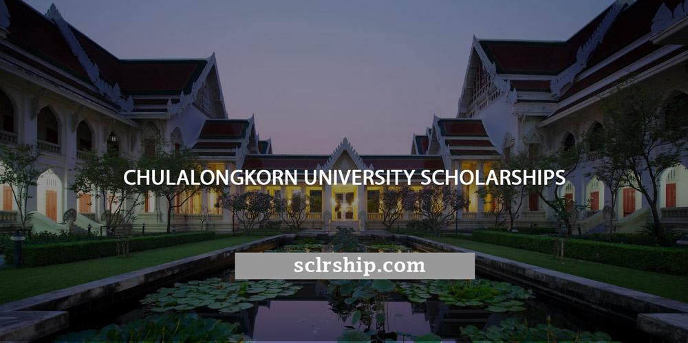 Chulalongkorn-University-Scholarships