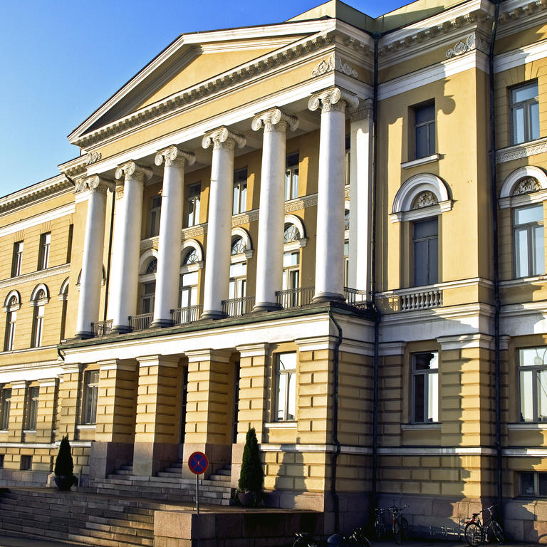 Helsingin yliopiston   paarakennus  4.11.2011