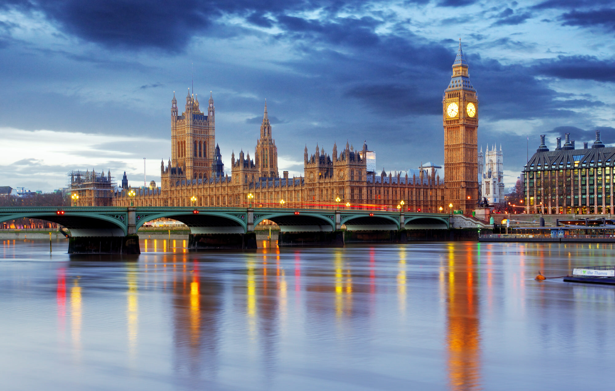 London – Big ben and houses of parliament, UK
