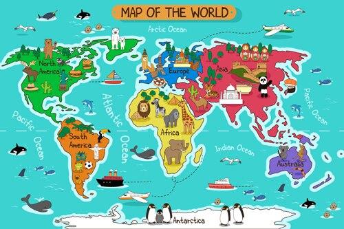 Peta-Dunia-Fotografi-Film-Photobooth-Banner-Latar-Belakang-Foto-Potret-Studio-Latar-Belakang-Kartun-Wallpaper