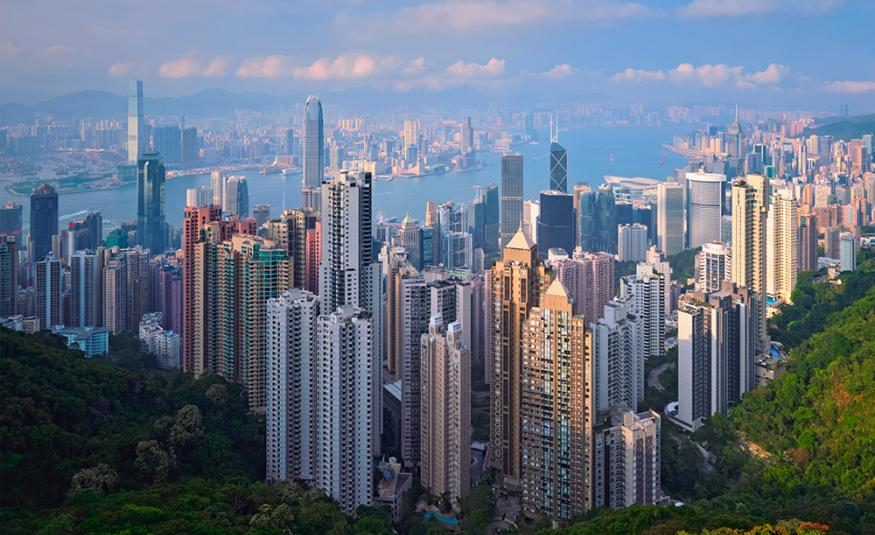 GettyImages-Hong Kong skyline